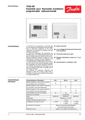 Thermostat fujitsu mode d'emploi