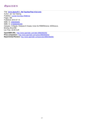 Livre Jaune 1 2 3 4.pdf notice & manuel d'utilisation