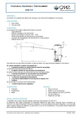 Cours station de notice manuel d 39 utilisation for Assainissement cours pdf