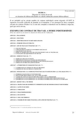 modele contrat de travail cdi 2014 document online. Black Bedroom Furniture Sets. Home Design Ideas