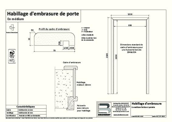 demontage habillage porte notice manuel d. Black Bedroom Furniture Sets. Home Design Ideas