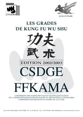 Tao kung notice manuel d 39 utilisation for Kung fu technique de base pdf
