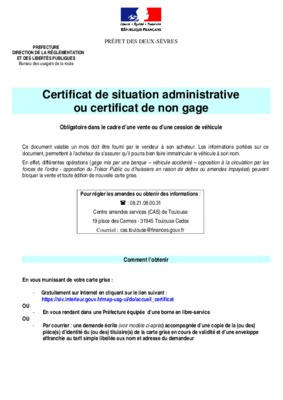 certificat de dedouanement 846 notice manuel d 39 utilisation. Black Bedroom Furniture Sets. Home Design Ideas