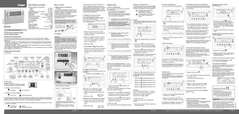Notice thermoflash ts notice manuel d - Thermoflash digi 2 ...