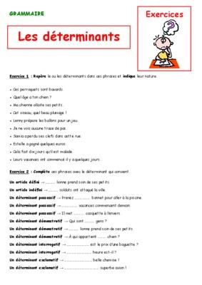 Evaluation Cm2 Les Determinants.pdf notice & manuel d ...