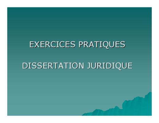 modele dune dissertation juridique Exemple de dissertation entièrement nous n'aurions donc pas dans cet exemple l'illustration d'une activité qui a sa fin en elle-même et notre exemple.