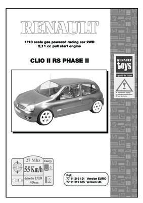 revue technique clio 2 phase notice manuel d. Black Bedroom Furniture Sets. Home Design Ideas