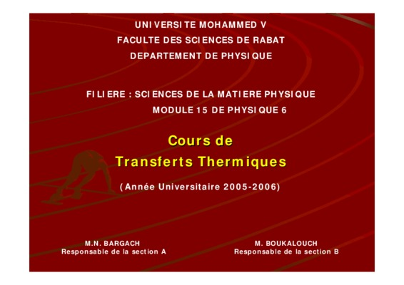 Corriges Exercices De Transferts Thermiques.pdf notice ...