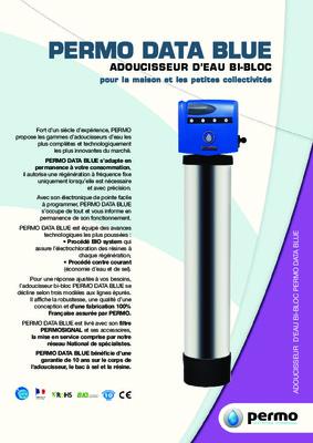 Notice permo data 7 bio notice manuel d for Adoucisseur d eau pour maison
