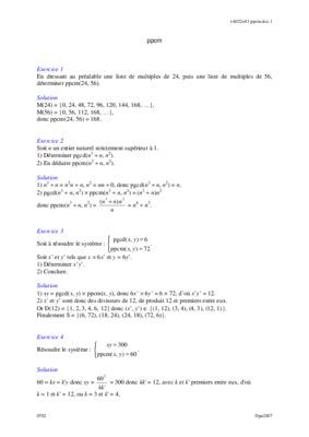 Exercice Sur Les Multiples Cm1.pdf notice & manuel d'utilisation