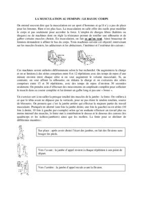 Banc musculation domyos hg 60 notice manuel d - Notice de montage banc de musculation domyos hg050 ...