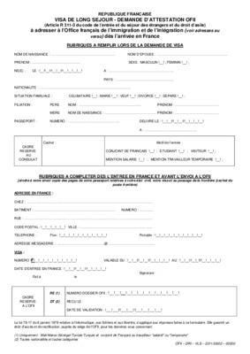 formulaire e301