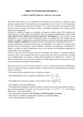 Correction dissertation bac 2006