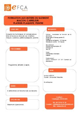 Guide des metiers du batiment le notice for Guide du batiment