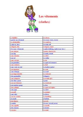 Liste vocabulaire lienslogiques anglais listes des for Tableau logique