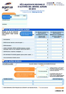 Declaration revenus notice manuel d - Declaration revenus meubles non professionnels ...