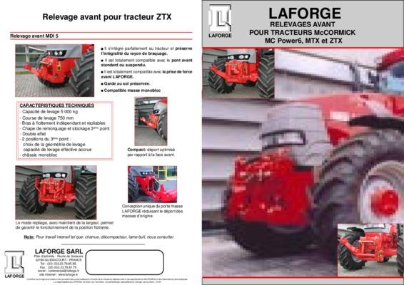 revue technique tracteurs mc cormick notice manuel d 39 utilisation. Black Bedroom Furniture Sets. Home Design Ideas