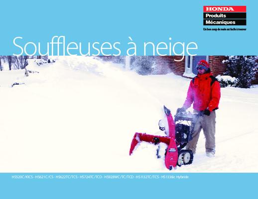 manuel de réparation de souffleuse à neige 2 cycles sears