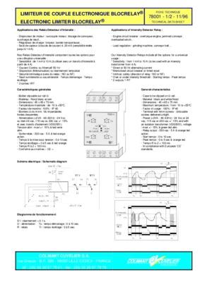 limiteur de couple a notice manuel d 39 utilisation. Black Bedroom Furniture Sets. Home Design Ideas