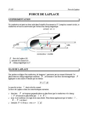 Force de laplace cours pdf javascript