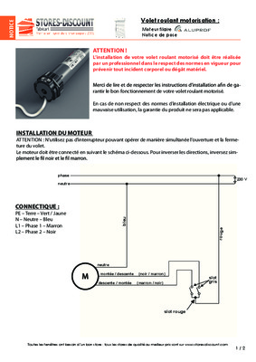 notice telecommande volet roulant france notice manuel d 39 utilisation. Black Bedroom Furniture Sets. Home Design Ideas
