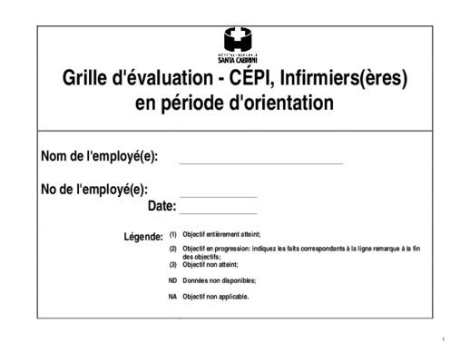 Employe notice manuel d 39 utilisation - Grille d evaluation d un employe ...