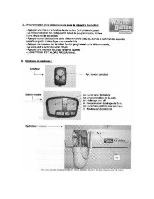 programmation moteur tubauto notice manuel d 39 utilisation. Black Bedroom Furniture Sets. Home Design Ideas