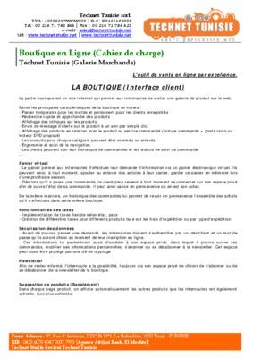 Cahier de charge jardin d enfant en notice manuel d 39 utilisation - Jardin d enfant en tunisie ...