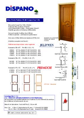 proces verbal de porte coupe feu notice manuel d. Black Bedroom Furniture Sets. Home Design Ideas
