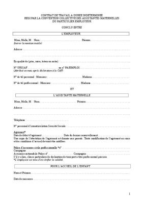 Contrat De Travail Algerie Pdf Dozier Family