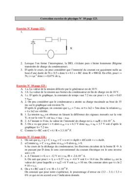 Corriges Exercice Exercice 8 Page 169 Physique Chimie ...