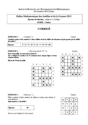 myriade mathematiques 4eme corrige