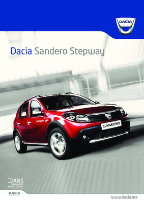 dacia sandero diesel schema notice manuel d 39 utilisation. Black Bedroom Furniture Sets. Home Design Ideas