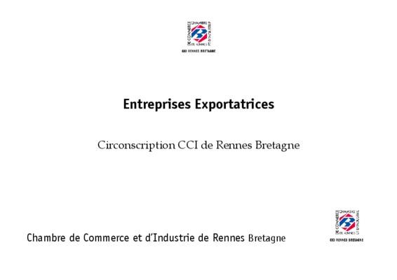 Rennes en notice manuel d 39 utilisation for Chambre de commerce rennes