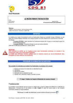 Modele Lettre Demande Mutation Externe.pdf notice & manuel d'utilisation