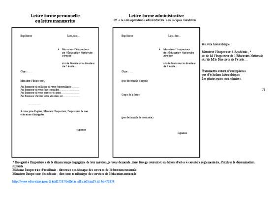 structure d une lettre personnelle pdf notice  u0026 manuel d