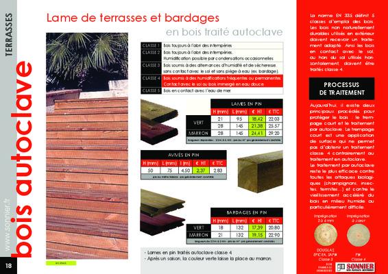 Autoclave Bois Mm Tarif.pdf notice & manuel d'utilisation