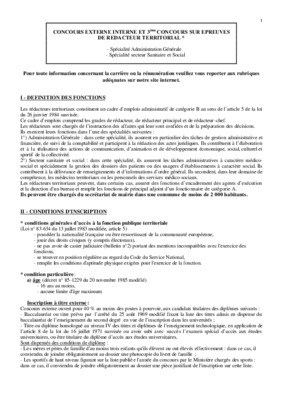Redacteur notice manuel d 39 utilisation - Grille indiciaire ingenieur principal ...