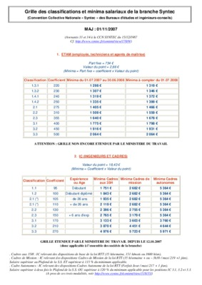 Grille syntec grille transposition meta syntec pdf notice manuel d - Grille de classification syntec ...