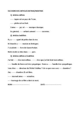 Exercices Sur Les Indefinis.pdf notice & manuel d'utilisation