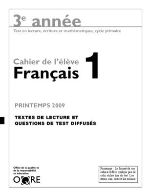 mes apprentissages en francais 4 annee de l enseignement notice manuel d 39 utilisation. Black Bedroom Furniture Sets. Home Design Ideas
