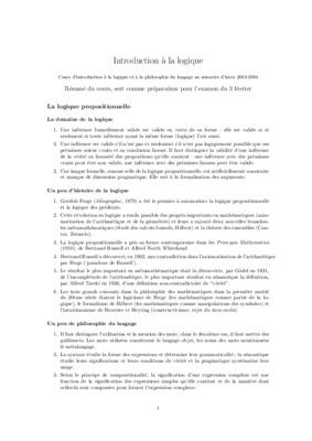principes de logique victor thibaudeau 2006 pdf