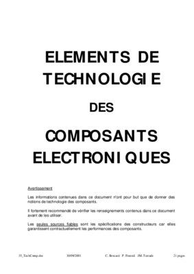 comment tester les composants electroniques avec un notice manuel d 39 utilisation. Black Bedroom Furniture Sets. Home Design Ideas