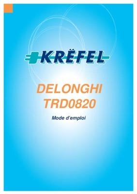 Radiateur Delonghi Parisio 1500 W Pdf Notice Manuel D