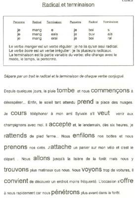 verbe regulier et irregulier anglais pdf