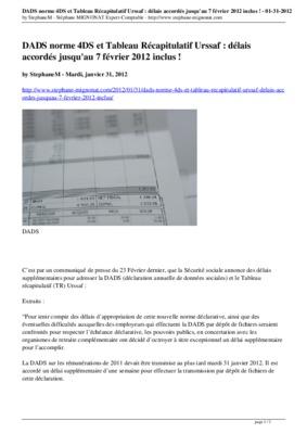 Tableau Recapitulatif Annuel Urssaf Pdf Notice Manuel D Utilisation