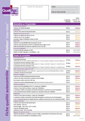 Autocontrole notice manuel d 39 utilisation - Controle installation electrique ...
