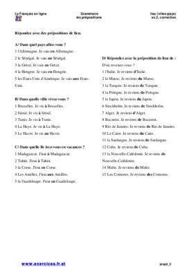 Prepositions De Temps Et De Lieu.pdf notice & manuel d ...