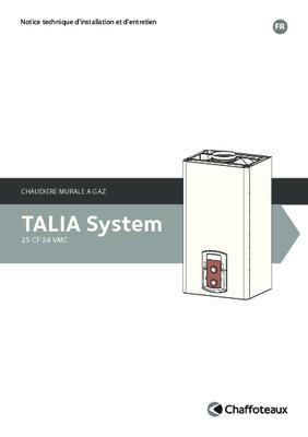 talia green system 25 notice manuel d 39 utilisation. Black Bedroom Furniture Sets. Home Design Ideas