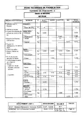 fiche technique pour fabrication vetement listes des fichiers pdf